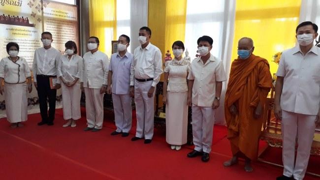ชลบุรี จัดงานส่งเสริมพระพุทธศาสนา เนื่องในวันมาฆบูชา 2564 (ชมคลิป)