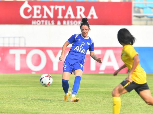 ขอนแก่น บุกถล่ม ชลบุรี 5-0 คว้าชัยนัดสอง ลีกหญิงโซนลุ้นแชมป์