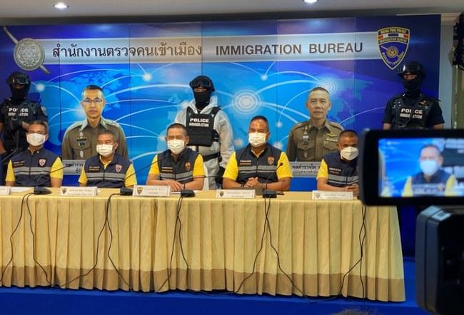 สตม. รวบคนต่างด้าวก่อเหตุในไทย 4 คดี (มีคลิป)