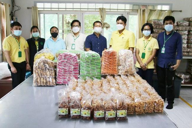 วิสาหกิจชุมชนแคปหมู-กล้วยฉาบ ของดีบ้านชาด (มีคลิป)