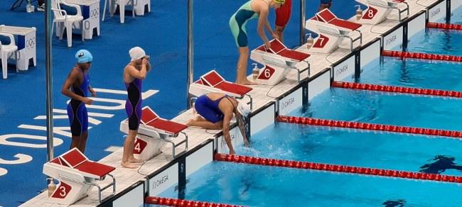 """""""เจนจิรา-นวพรรษ"""" พอใจผลงานว่ายน้ำโอลิมปิก2020 ตั้งเป้าลุยต่อโอลิมปิกครั้งหน้าที่ฝรั่งเศส"""