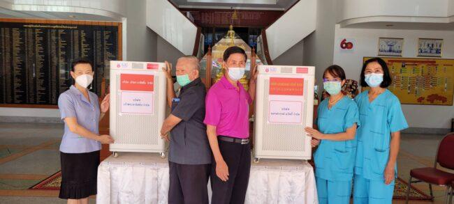 สมาคมจีนเตี้ยอัน สาขานครสวรรค์ มอบเครื่องฟอกอากาศ ให้กับโรงพยาบาลสวรรค์ประชารักษ์